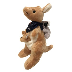 SOFT KANGAROO WITH JOEY AND KOALA 20CM