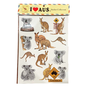 PACK OF 11 - ANIMAL STICKERS