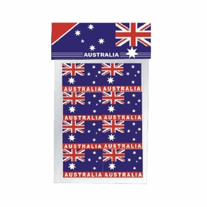 PACK OF 16 AUSTRALIAN FLAG STICKERS