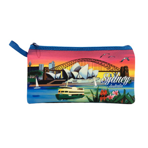 PENCIL CASE - SUNSET OVER SYDNEY HARBOUR