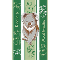 KOALAS DESIGN KITCHEN (TEA) TOWEL
