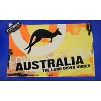 ROOS - AUSTRALIA THE LAND DOWN UNDER KITCHEN (TEA )TOWEL