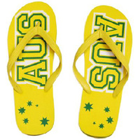 PAIR OF AUS STAR THONGS