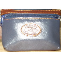 LEATHER AUSTRALIAN COIN BAG/PURSE