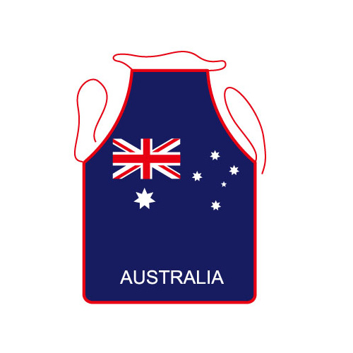 AUSTRALIAN FLAG DESIGN KITCHEN APRON