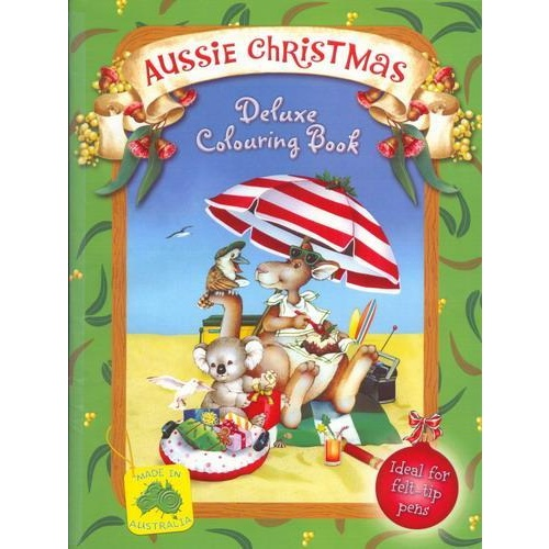 AUSSIE CHRISTMAS DELUXE COLOURING BOOK