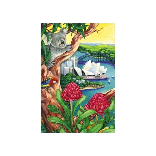 KOALA SYDNEY GREETING CARD