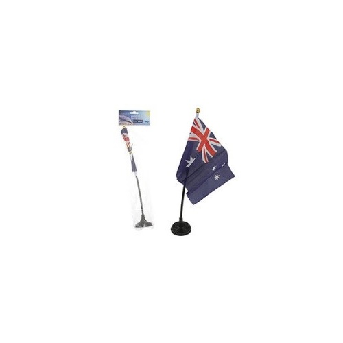 AUSTRALIAN DESK FLAG WITH BASE