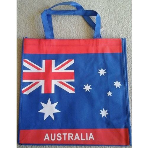 AUSTRALIAN FLAG DESIGN SHOPPING BAG